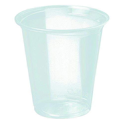 SOLO Cup Company 12PX Reveal Plastic Cold Cups, 12 Oz, Clear, 50 Per Sleeve (Case of 20 Sleeves)