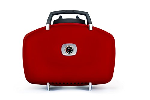 Napoleon Grills TQ285-RD-A Travelq 285 Portable Gas Grill, Red