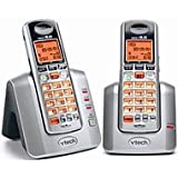 VTech Two Handset Cordless Phone System with Caller ID and Handset Speakerphone (VT3111-2), Office Central
