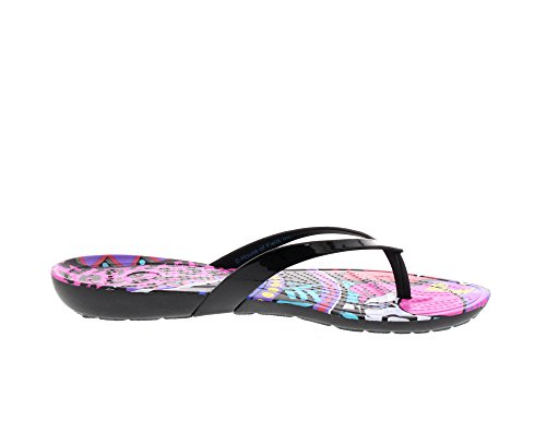 CROCS - Really Sexi House of Field(TM) Flip - black Black Black