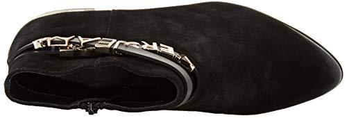 E899 Versace donna Stivali Stivaletti nero Jeans Nero 0YYAax