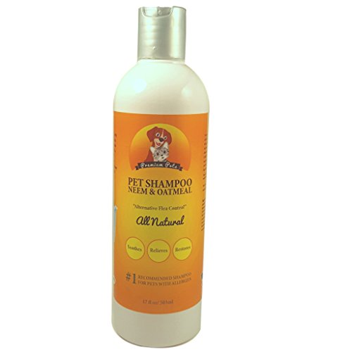 Premium Pets Oatmeal And Neem Oil Dog Shampoo