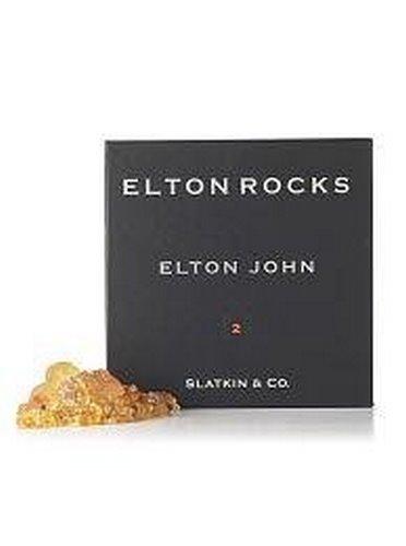 Slatkin & Co. Elton John #2 Scented Potpourri Rocks - Blend of Ginger, Mango, Mandarin Orange and Indian Lime From Bath & Body Works by Slatkin & Co.