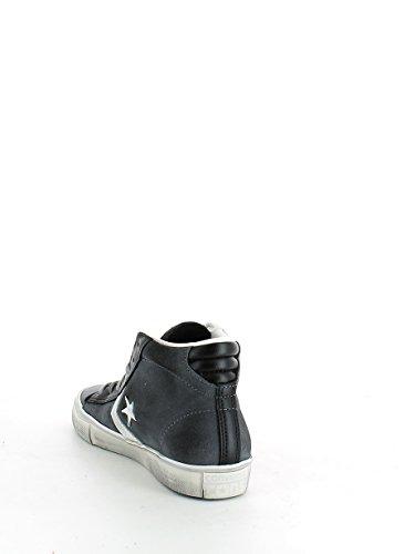 Converse Pro Lthr Vulc Mid, Sneakers para Hombre THUNDER/BLACK/TURTLEDOVE