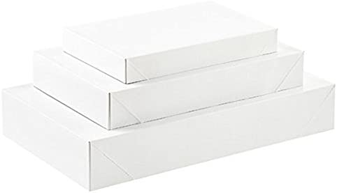 Pack White Gift Wrap Boxes product image