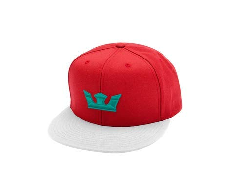 (Supra Mens Icon Snap Hat Red White Tea Size One Size Fits All)