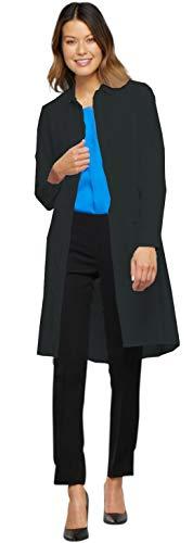 (Cherokee Infinity 1401A Lab Coat Black L)