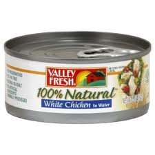 Valley Fresh 100% Natural Chicken Breast in Water 5 Oz. Can (Pack of (Fresh Chicken)