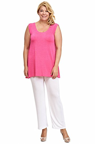 SLINKY Empire Style A-Top Lagenlook pink
