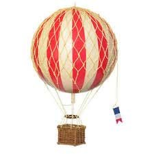 Authentic Models - Jules Verne Balloon - Red