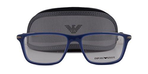 Emporio Armani EA 3063 Eyeglasses 53-16-140 Opal Marine Blue 5383 - Sunglasses Jacob Marin