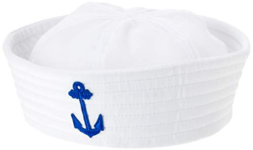 Amscan 392101 Sailor Hat, Multicolor -