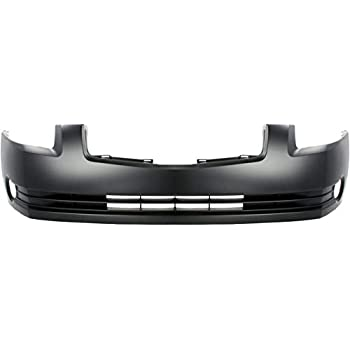Bumper Kit For 2002-2004 Nissan Altima Front For Models With Fog Lights 2Pc