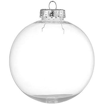 Amazoncom Darice 261043 4Piece Heavy Duty Glass Balls Clear