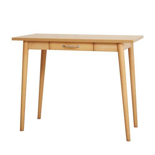 ナチュラル/Lereve Simple Desk 90 デスク 木製 収納 ナチュラル シンプル B01BSBPSHY  ナチュラル