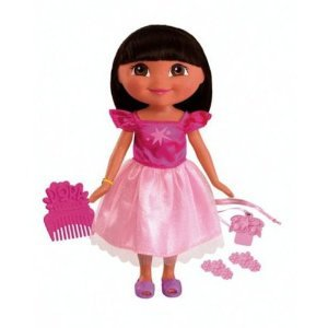Fisher-Price Dora Saves the Snow Princess Doll: Winter Star Dora