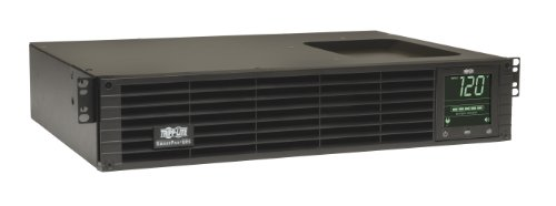 - Tripp Lite 750VA Smart UPS Back Up, Sine Wave, 600W Line-Interactive, 2U Rackmount, Extended Run Option, LCD, USB, DB9 (SMART750RMXL2U)