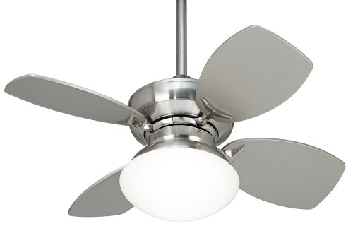 28'' Hana Bay Brushed Nickel Ceiling Fan by Casa Vieja