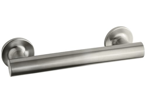 KOHLER K-11890-BN Purist 9-Inch Grab Bar, Vibrant Brushed Nickel