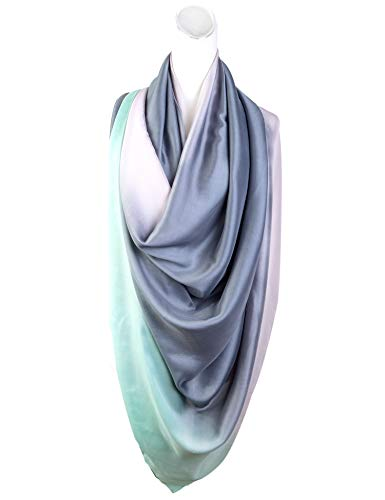 Lightweight Scarves: Fashion Lace Design Colorful Shawl Wrap For Women (70.9