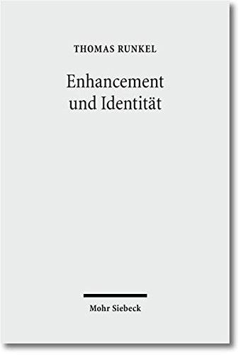 Enhancement und Identität: Die Idee einer biomedizinischen Verbesserung des Menschen als normative Herausforderung Taschenbuch – 1. Oktober 2010 Thomas Runkel Mohr Siebeck 3161505182 Philosophie / Sonstiges