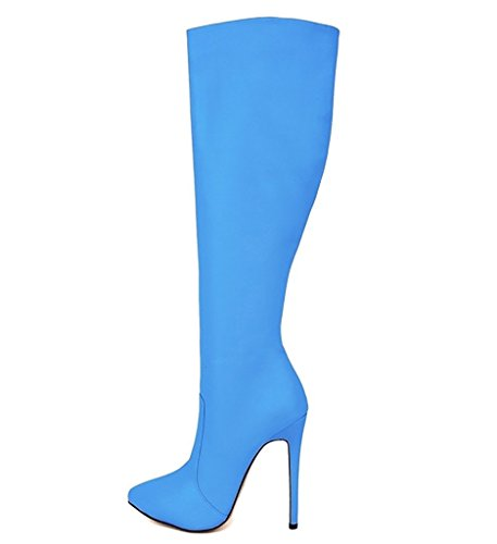 EKS - Botas de equitación mujer Azul