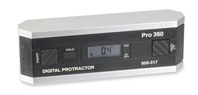 Fowler 54-950-315 Pro-360 Digital Protractor, 360° range