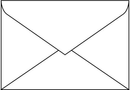 Sigel DU060 Envelopes, white, C6 (4.49 x 6.38 inches), 67.6 lbs, 50 pcs.]()