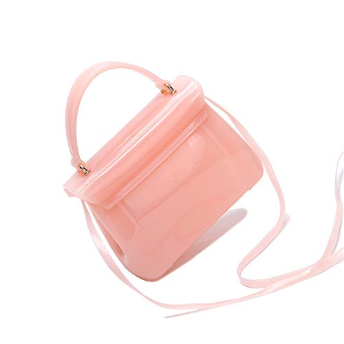 Messenger Flap Pink White Jelly Bolso Pink Bolso Bag dxWqnRd4