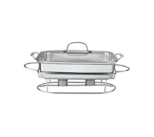 Cuisinart Classic Entertaining Collection 12inch Buffet Server - Stainless Steel by Cuisinart