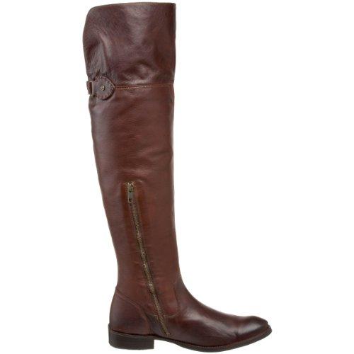 Frye Kvinners Shirley Over-the-knee Riding Boot Mørk Brun