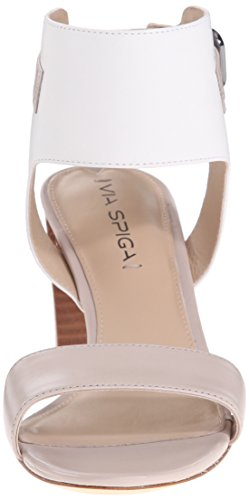 Women's Sandal Spiga Taupe White Wiley Via Dress 5xZvInq