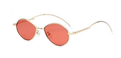 cercle soleil vintage rond style métallique inspirées Rouge Lennon retro polarisées du en de lunettes Film Tvx044