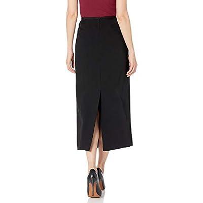Kasper Women's Stretch Crepe Column Skirt at Women's Clothing store