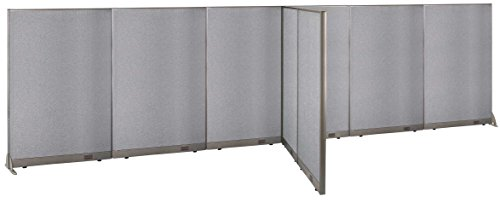 GOF T-Shaped Freestanding Partition 60d x 264w x 72h / Office, Room Divider by GOF