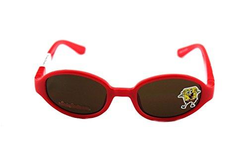 New Authentic Nickelodeon Sponge Bob SB27 Red Infants Sunglasses - Squarepants Sunglasses Spongebob