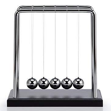UDore Classic Newtons Cradle Balance Balls Science Desk ()