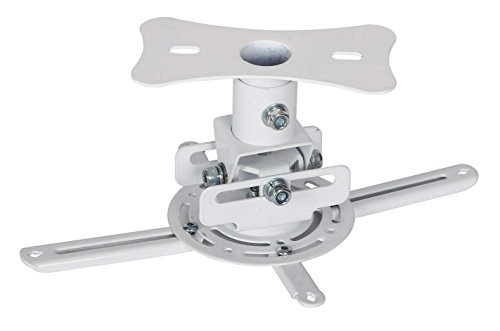 Fixeover Universal Ceiling Projector Mount Bracket, Extendable Arm 2.36'' to 16.14'',Weight Capacity 39.6 lbs by FIXEOVER
