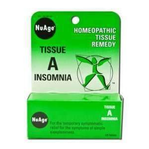 Nu Age Tissue A Insomnia 125 Tablets by Hyland's Homeopathic - Insomnia 125 Tab