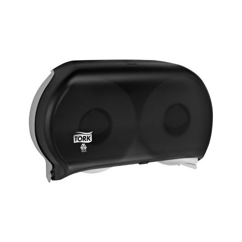 Zoom Supply SCA Tork 56TR Dispenser, Elegant Commercial-Grade Tork Toilet Paper Dispenser, Black Jumbo Roll Means Less Run Outs -- ADA Compliant Version