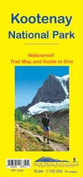 Kootenay National Park : Waterproof Trail Map and Guide in One