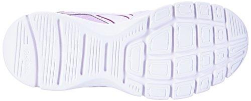 Reebok Trainfusion 5.0 - zapatillas deportivas de material sintético mujer Lilac Ice/Fierce Fuchsia/White