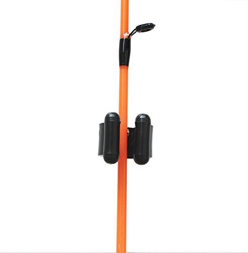 20 regular fishing rod storage clips fishing rod holders for Fishing rod clips