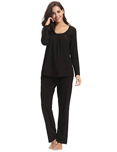 de algod pijama Conjuntos Aibrou de de para de dormir Conjunto mujer ropa RqPwq85xg