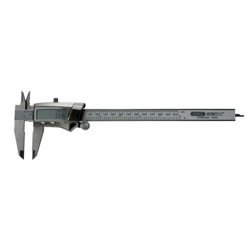 General Tools 1478 Digital Stainless Steel Caliper, 0 to 8