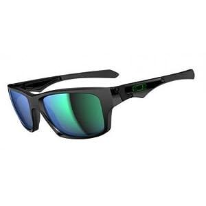 Oakley Mens Jupiter Squared Sunglasses, Polished Black/Jade Iridium, One Size