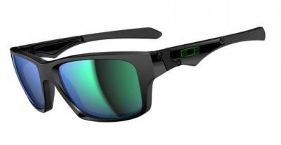 Oakley Mens Jupiter Squared Sunglasses, Polished Black/Jade Iridium, One - Oakley Jupiter