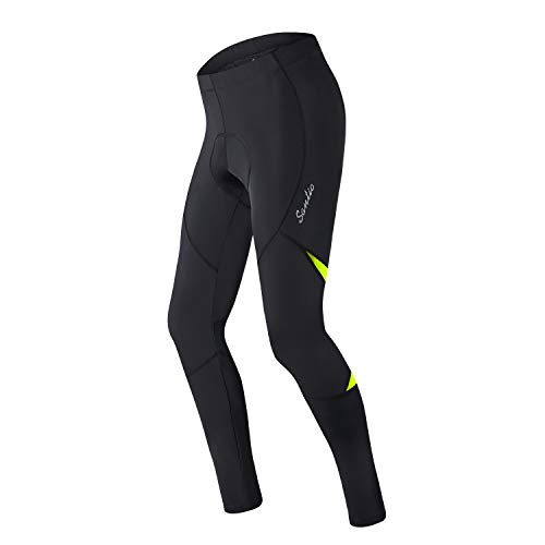 Santic Cycling Trousers Mens Padded Cycling Tights Pants for Men Cycling Leggings Winter – Barry