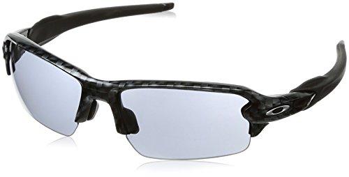 Oakley Men's Flak 2.0 Asian Fit OO9271-06 Rectangular Sunglasses, Carbon Fiber, 61 - Flak 2.0 Lenses Fit Oakley Asian