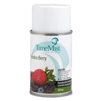 TimeMist 332965TMCT - Metered Fragrance Dispenser Refills, Voodoo Berry 5.3 oz, 12 Cans/Carton